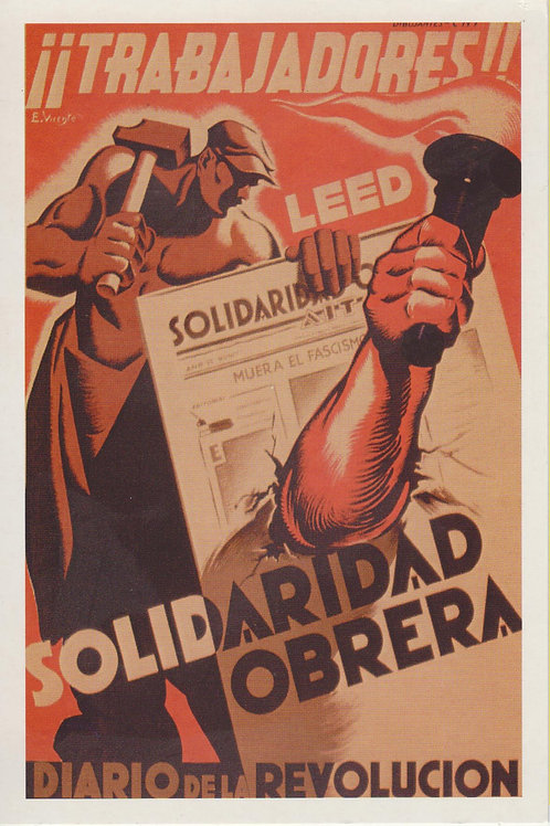 Carte postale / Solidaridad obrera