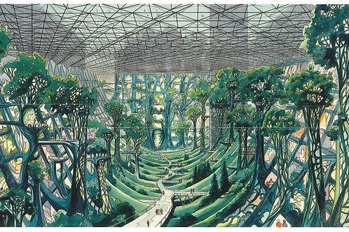 Carte postale / Panorama - Venise underground - Luc Schui