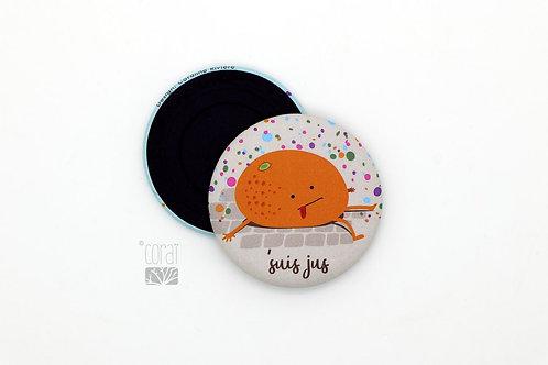 Magnet / Petite orange de Carnaval