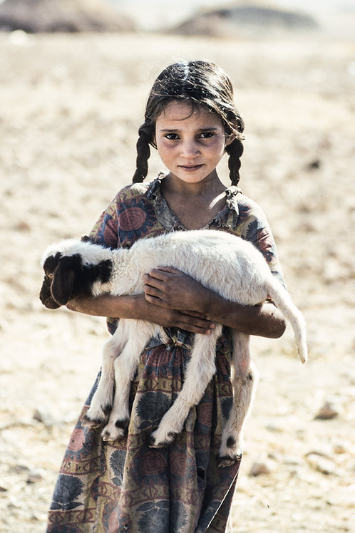Carte postale / Maroc - fille - Charles Henneghien