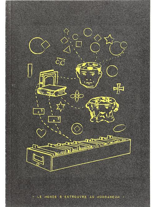 Carnet de notes / Mundaneum (noir)