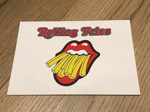 Carte postale / Rolling Fries