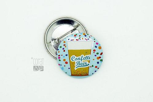 Badge / Confetti beer