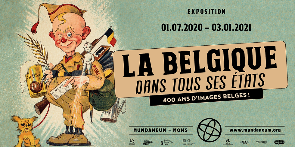 Expo / La Belgique dans tous ses états: 15h00 (heure d'arrivée)  - 17h00 (heure de départ)