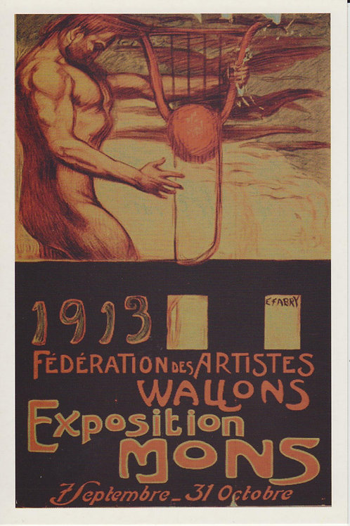Carte postale / Exposition Mons