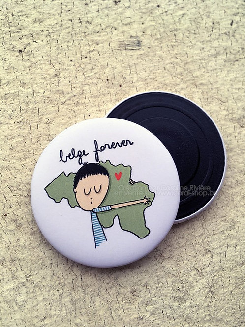 Magnet / Belge Forever