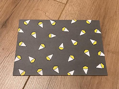 Carte postale / Frites