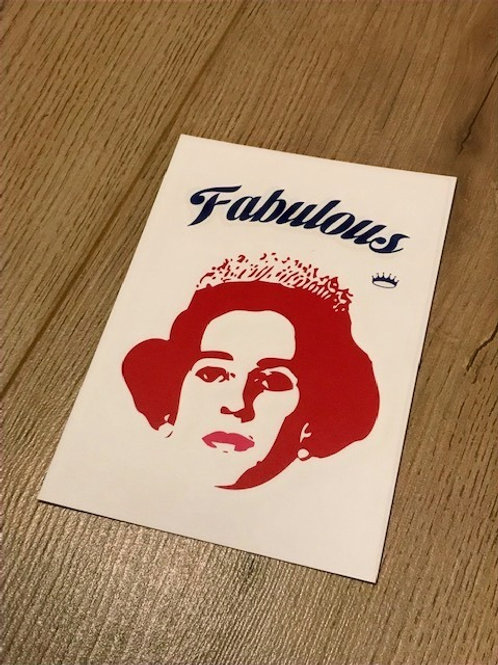 Carte postale / Fabulous
