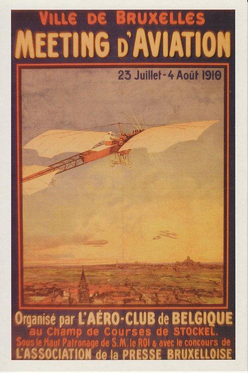 Carte postale / Meeting d'aviation