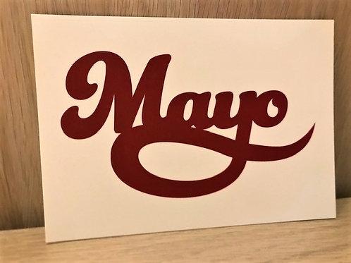 Carte postale / Mayo