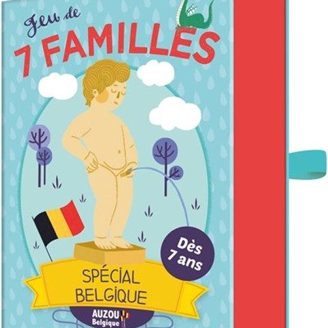 Jeu des 7 familles spécial Belgique