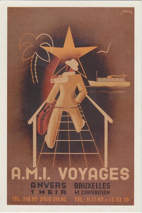Carte postale / A.M.I Voyages