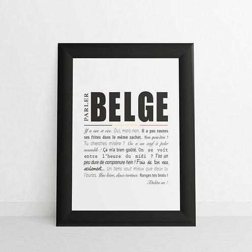 Cadre / Parler belge