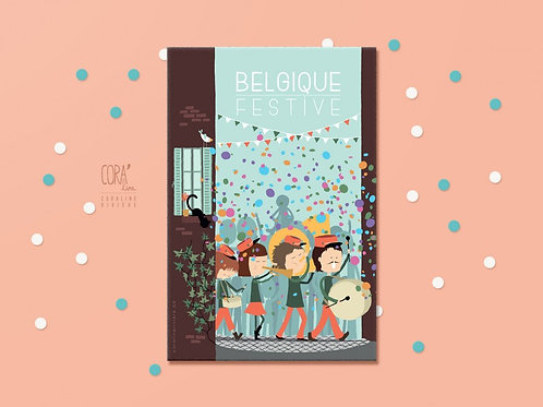 Carte postale / Belgique Festive