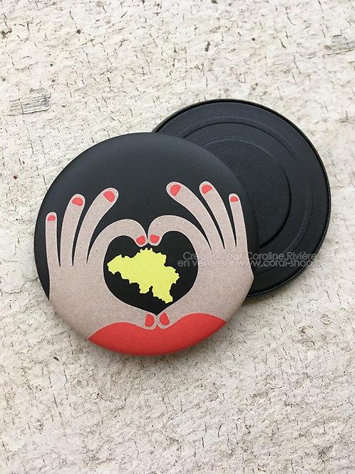 Magnet / J'aime la Belgique