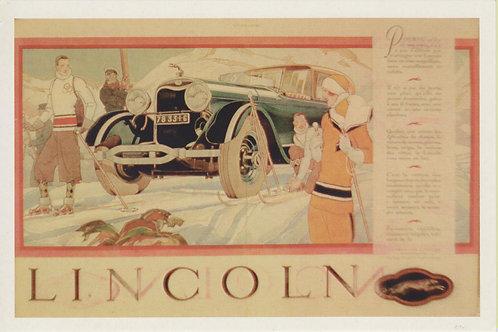 Carte postale / Lincoln