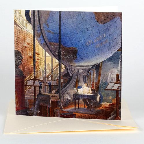 Carte postale / Paul Otlet - François Schuiten
