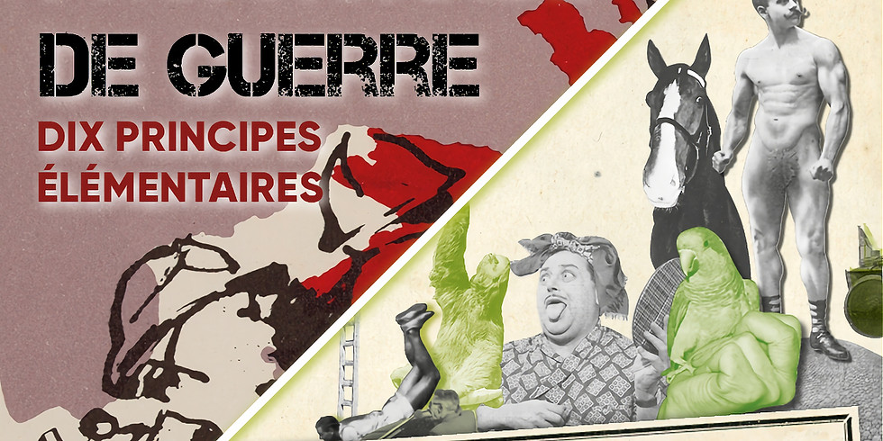 Expo / Insortables! + Résister à la propagande de guerre : 13h00 - 15h00 (Gratuit / 1er dimanche du mois)