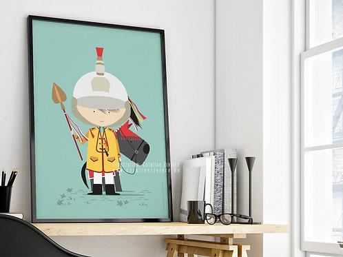 Poster / Petit Saint-Georges