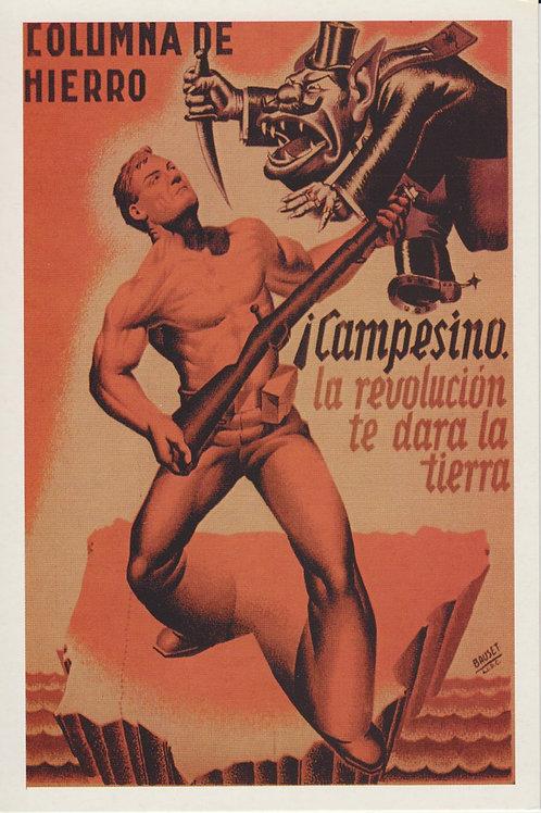 Carte postale / Columna de hierro