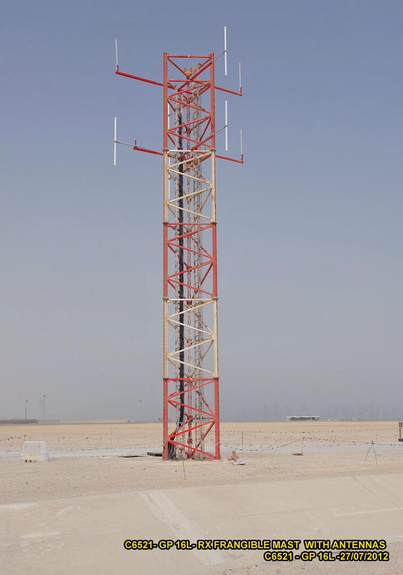Frangible Tower (Glidepath, radio tower, FOD) | lattixweb