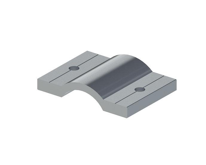 Crossbar bracket
