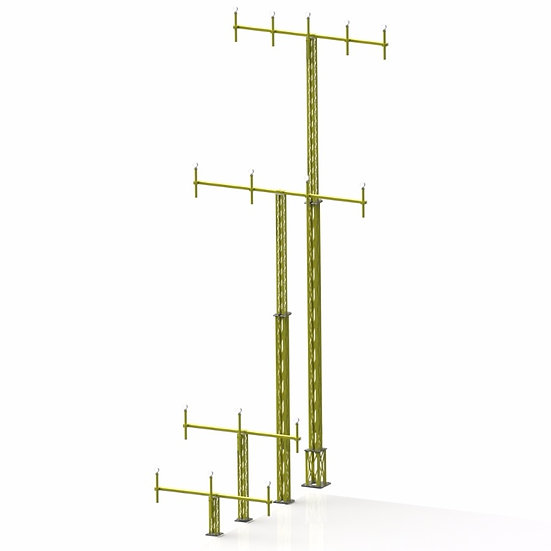 Approach Light Mast Systems