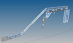 Rohrkettenforderanlage - Industrie