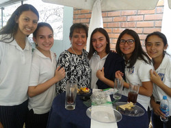 Friends from the American School