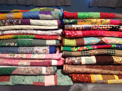 Quilts donated by FBC Mt. Dora