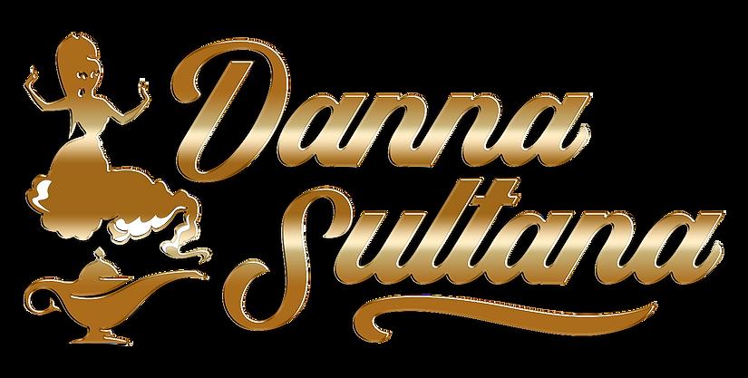 Logotipo Danna Sultana Definitivo dorado
