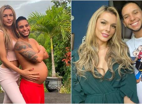 Trans Model Danna Sultana ve 8 Aylık Hamile Olan Kocası Esteban Landrau