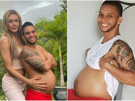 Casal trans aguarda chegada de filho e quem está grávido é o pai