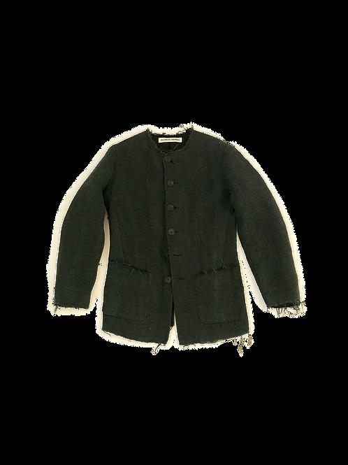 AW19 Collarless Work Jacket