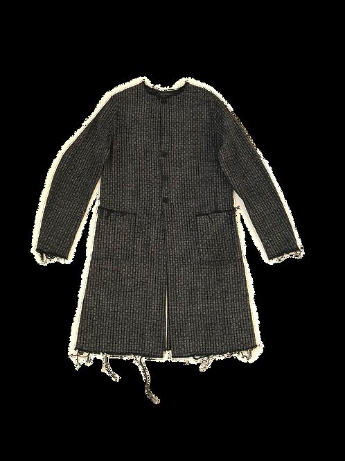 ARCHIVE - Collarless Lab Coat