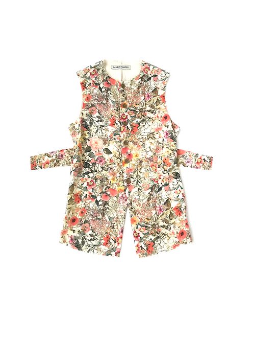 SS19 Floral Pirate Waistcoat