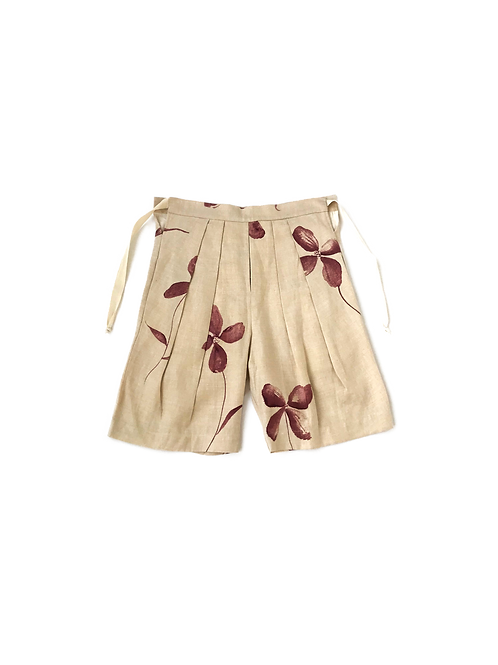 SS19 Double Pleated Shorts