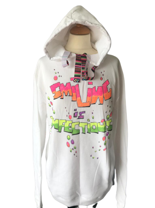 Smiling is Infectious Hoodie
