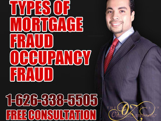Types of Mortgage Fraud Occupancy Fraud