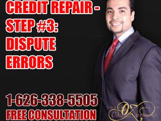 Credit Repair - Step #3