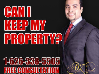 Can I keep my property?