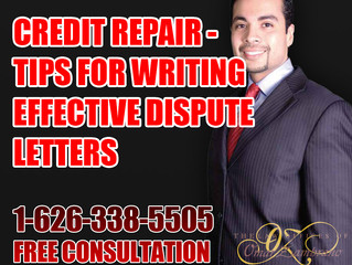 Credit Repair - Tips for Writing Effective Dispute Letters