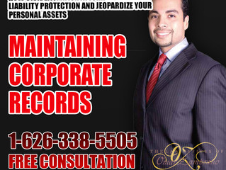 Maintaining Corporate Records