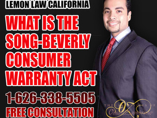 What is the Song-Beverly Consumer Warranty Act