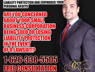 Are you concerned about your small business corporation being sued or losing liability protection in