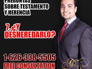 Preguntas Sobre TestamentoY Herencia - 7. Y Desheredarlo?