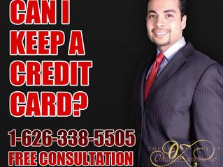 Can I keep a credit card?