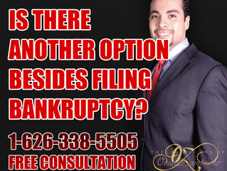 Is there another option besides filing bankruptcy?
