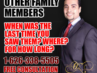 Other Family Members - When Was The Last Time You Saw Them? Where? For How Long?