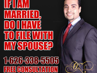 If I am married do I have to file with my spouse?